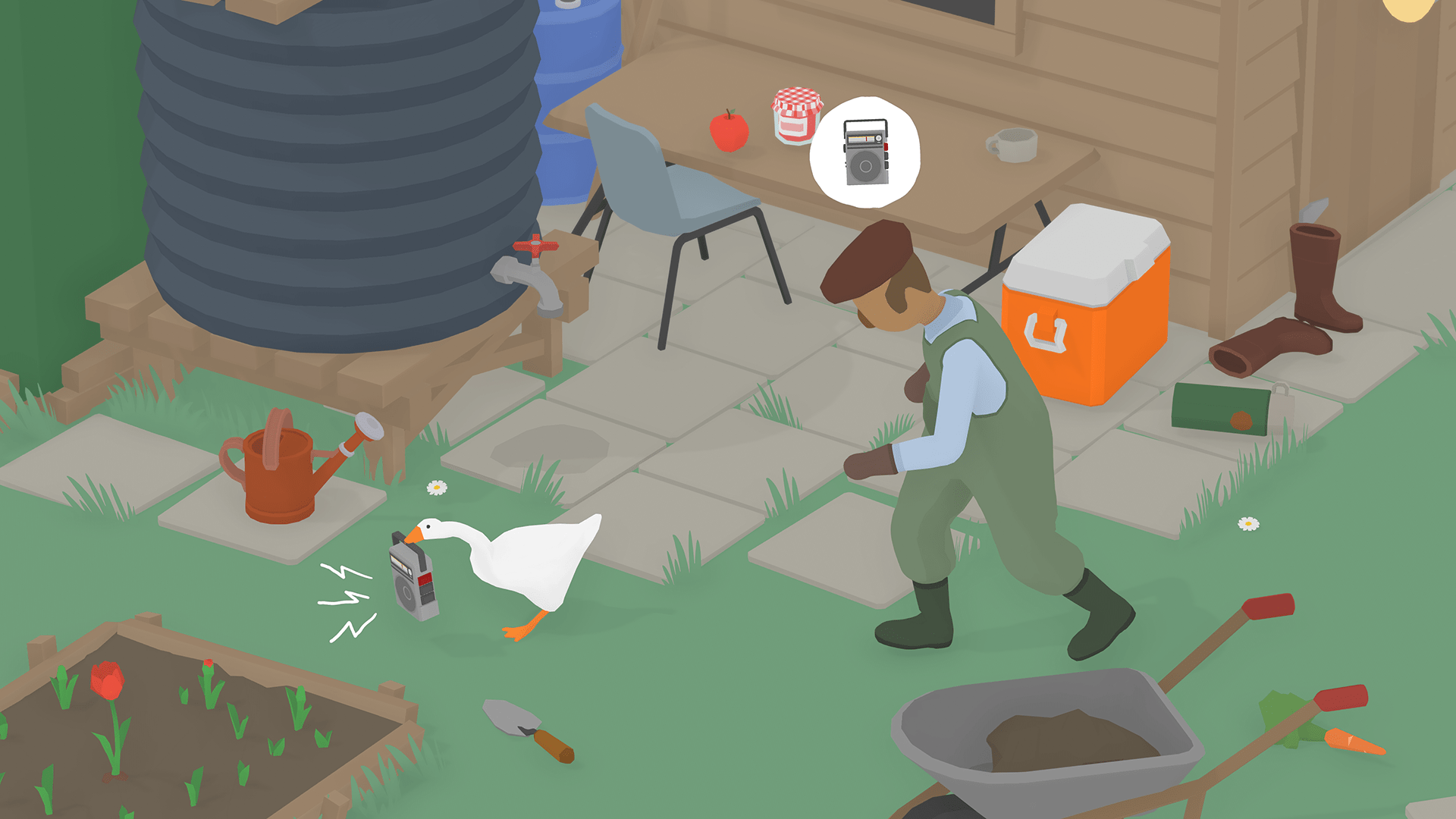 Game Where You Play As A Jerk Goose Is Coming To PC And Nintendo Switch Next Year
