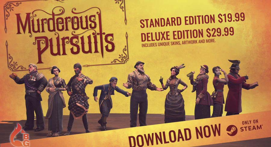 Claim your Free Game of Murderous Pursuits But Hurry