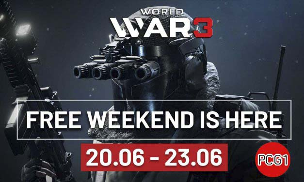 World War 3 The Game is Free to Play on Steam 20.06-23.06