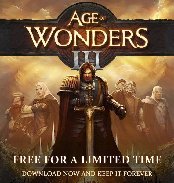 """Free For a Limited Time  """"Age of Wonders III"""""""