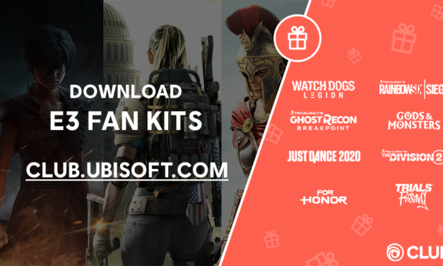 Free Downloads:  E3 2019 Fan Kits From Ubisoft Club