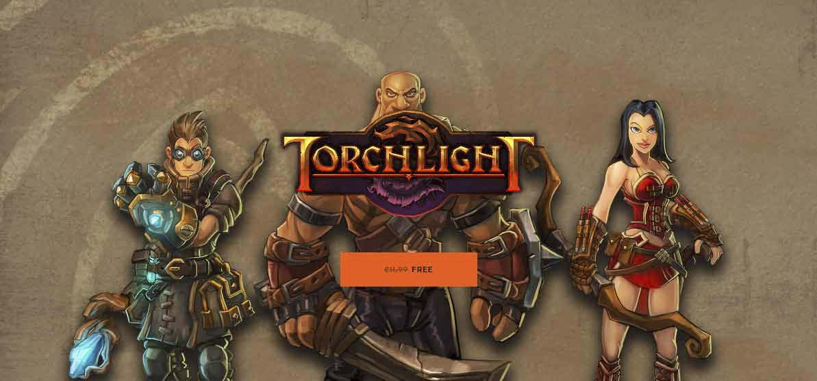 "Free for a Limited Time ""Torchlight"" on the Epic Store"