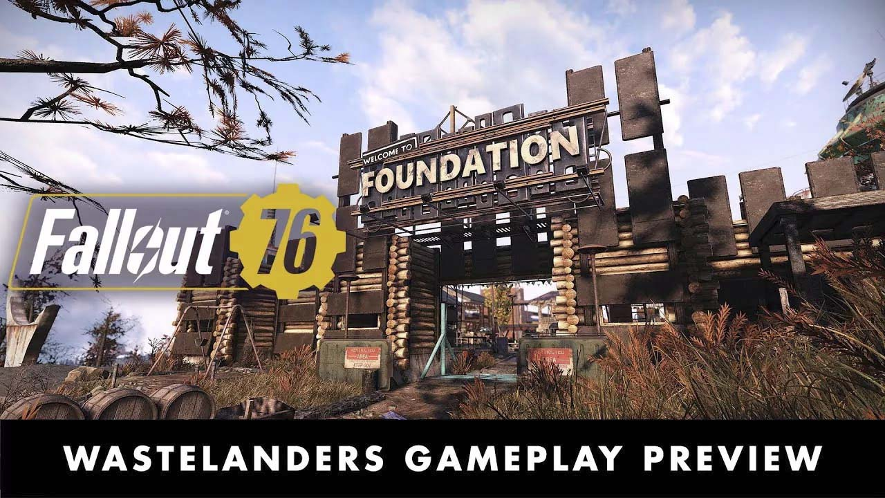 Bethesda Game Days 2020: Brand New Fallout 76 Wastelanders Gameplay Preview – YouTube