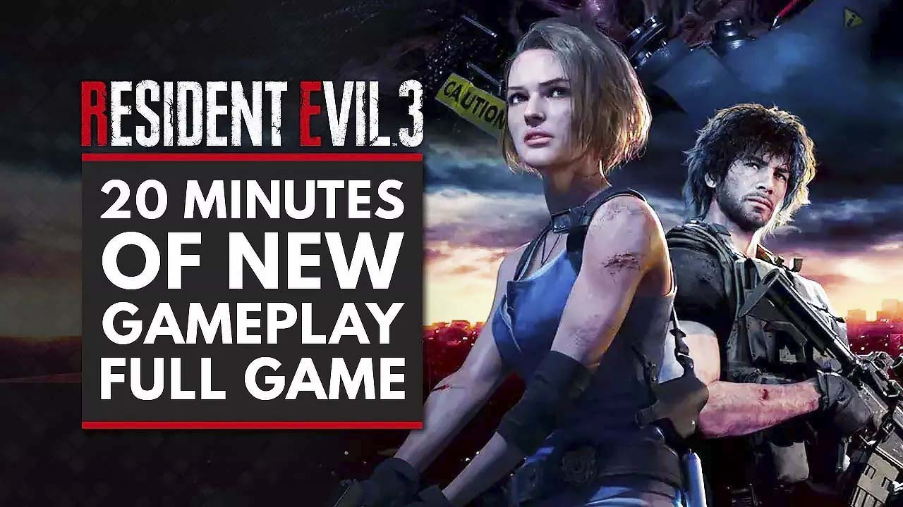 RESIDENT EVIL 3 REMAKE | 20 Minutes of New Gameplay | Arekkz Gaming