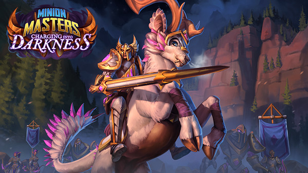 Free DLC Game for May:  Minion Masters – Charging Into Darkness on Steam | Ends 3rd June 2020